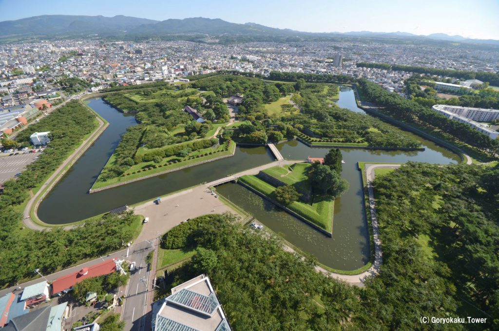 函館五稜郭で幕府軍は最後の抵抗をしました