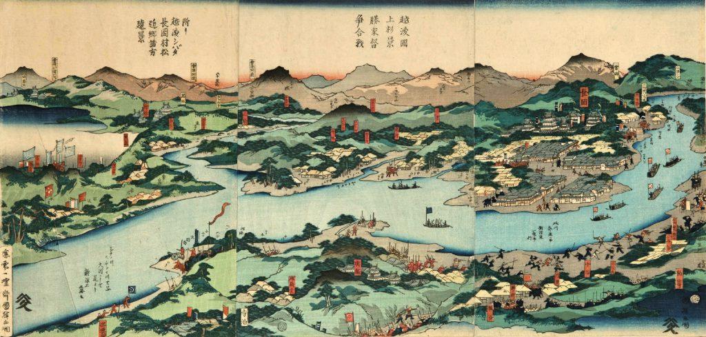 北越戦争は戊辰戦争の一環となる戦闘で新政府軍は長岡藩の軍に苦戦しながらも勝利します