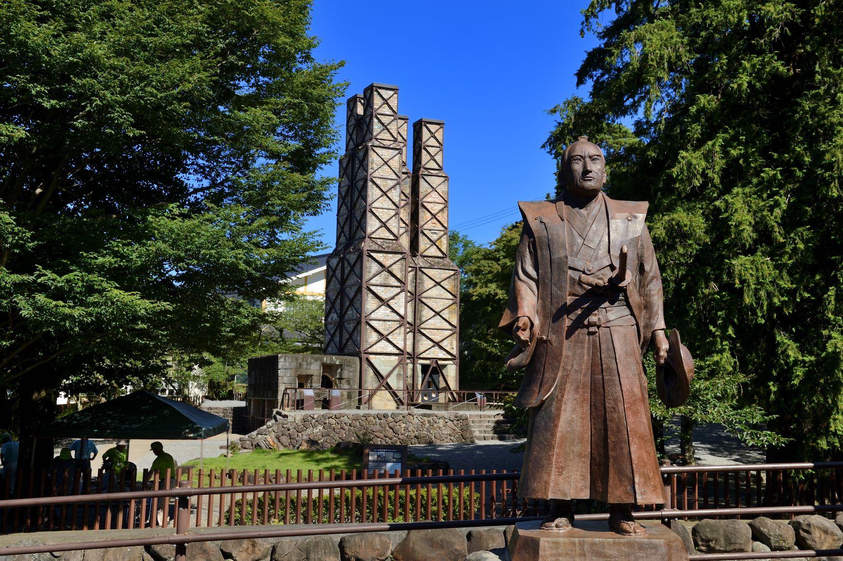 韮山反射炉は明治日本の産業遺産として世界遺産として登録されています