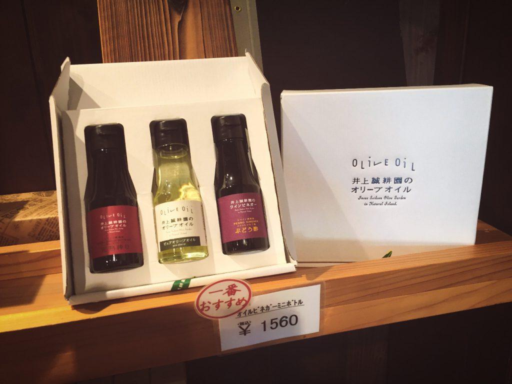 小豆島土産の定番オリーブオイル