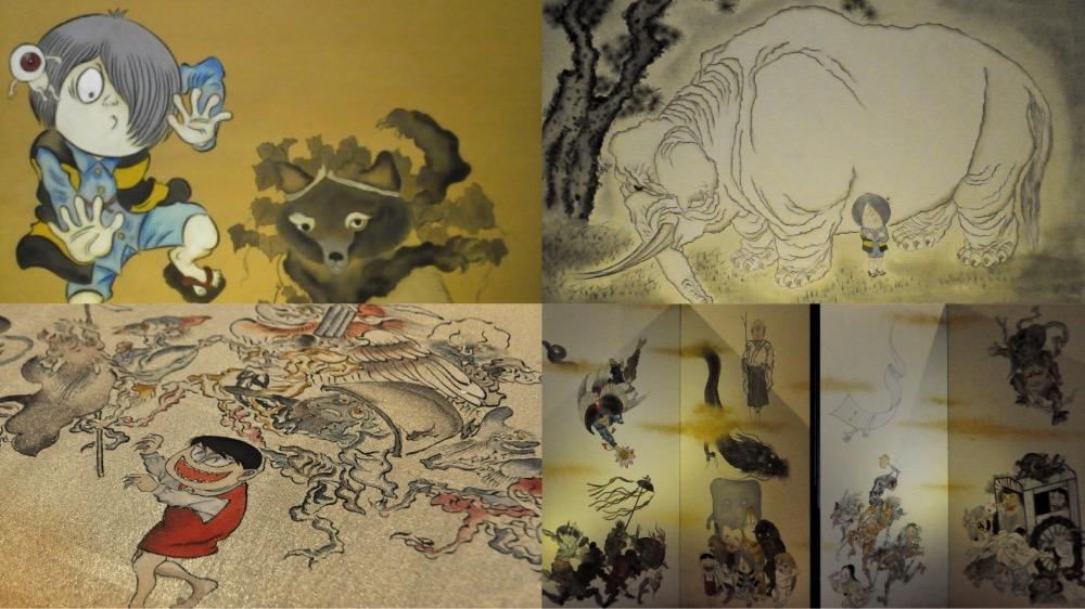 ゲゲゲの鬼太郎と比叡山の七不思議展