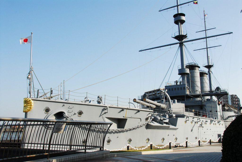 横須賀「JOYPIT」と「よこすかルートミュージアム」のスポット「世界三大記念艦 三笠」