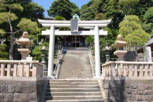 横須賀市西浦賀にある「西叶神社」の鳥居と境内